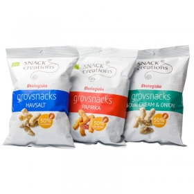 Sprouted Grain Snacks